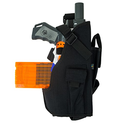 Blasterparts Multi Holster MX (right) - suitable for Nerf Blasters like Strongarm (black)