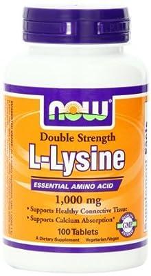 L-Lysine (1000mg)(Size: 100)