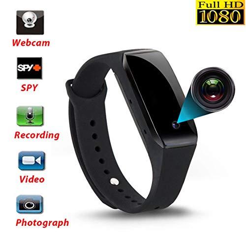 Multifunktions-Armbanduhr 1080P Video Record Kamera IR Nachtsicht Wasserdicht DVR Smart Armband Unterstützung TF-Karte Armbanduhr Video