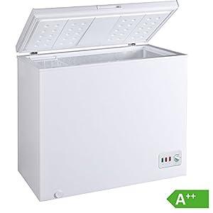 Bomann-GT-358-GefriertruheA-85-cm-Hhe-172-kWhJahr-200-L-Gefrierteilregelbarer-Thermostat