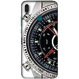 Printfidaa Metal Wrist Watch Design Hard Printed Designer Case for Huawei Y9 (2019), Huawei Enjoy 9 Plus Back Cover HYD1236