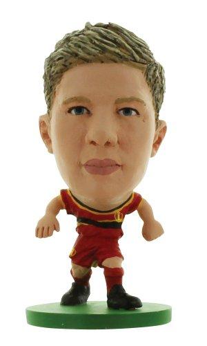 Soccerstarz - 400387 - Figurine Officielle - Sport - L'équipe De Belgique - Kevin De Bruyne Dans Sa Tenue À Domicile