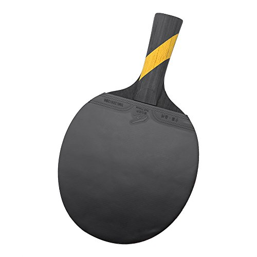 Dioche Tischtennisschläger, Boliprince Ping Pong Paddel Schläger für Shake Hand Grip Spieler (1PC)