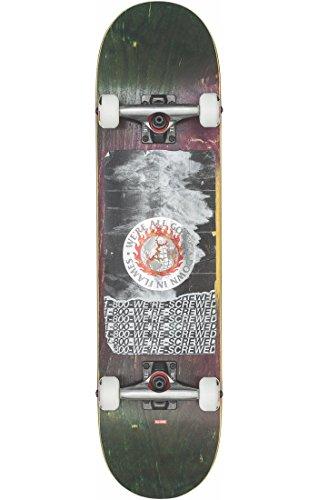 Globe Herren G2 In Flames Skateboard, Holo/Tsunami, 7.75 7.75