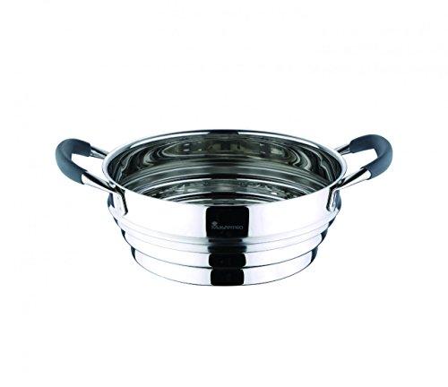 Edelstahl Prima Dampfgarer-Set 22 cm 3-teilig