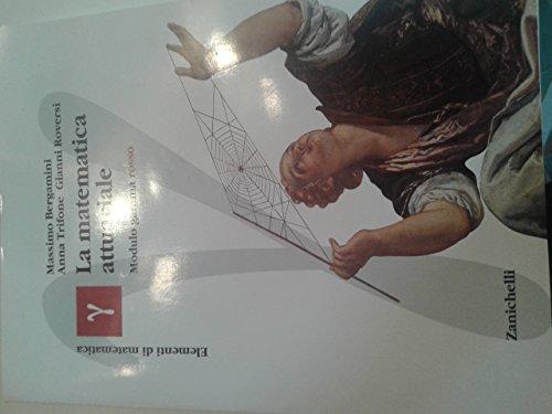 Elementi di matematica. Modulo gamma: Matematica attuariale. Ediz. Rossa. Per le Scuole superiori