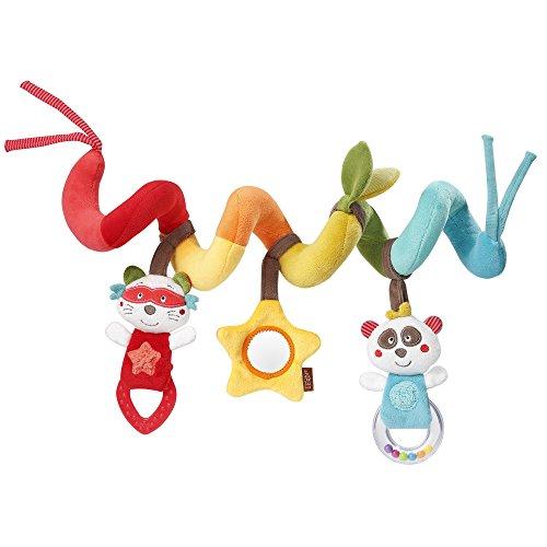 Fehn 067286 Activity-Spirale Jungle Heroes - Stoff-Spirale zum Greifen und Fühlen - Für Babys und Kleinkinder ab 0+ Monaten - Maße: 30 cm (Spiegel Länge, Voller Mädchen Für In)