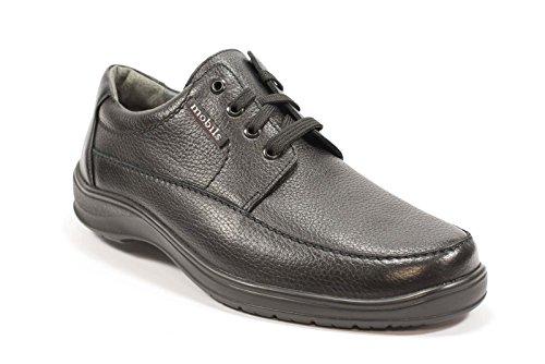 Mephisto Ezard Schw 9000, Chaussures de ville à lacets pour homme - noir - Schwarz, 46,5 EU