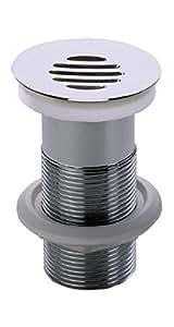 Nicoll 0501091 Bonde grille Hauteur 100 mm Chromé L2267