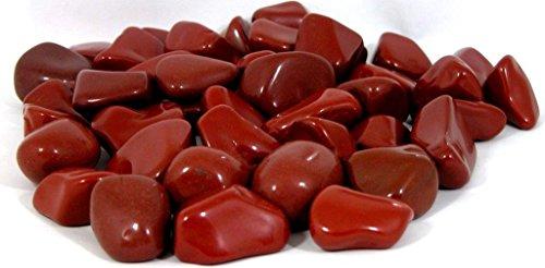 Roter Jaspis--Trommelsteine - 900gr., 25 - 50 mm **DETOX** für die Seele