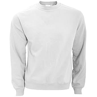B&C - Sweatshirt - Homme (S) (Blanc)