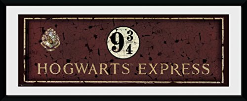 GB Eye, Harry Potter, Hogwarts Express, Photographie encadrée 75 x 30 cm
