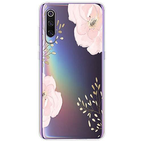 Funda Xiaomi Mi 9 / Xiaomi Mi 9 SE, [Liquid Crystal] Flexible TPU Xiaomi Mi 9 Silicona Suave Transparente Protección Delgada y Claridad Premium Carcasa Xiaomi Mi 9 SE (4, Xiaomi Mi 9)