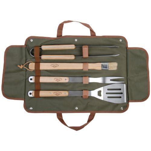 Esschert Barbecue tool kit, Multicoloured