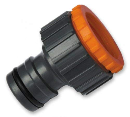 Bradas Blf25 Gl5907 Système Professionnel Filetage Robinet avec Adaptateur pour 1 et 3/10,2 cm, Noir, 4 x 2 x 2 cm
