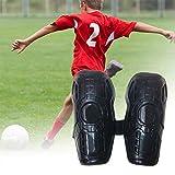 AIHOME Kinder Schienbeinschoner Schienbeinschützer Fußball Verstärkte Bunte Doppelgurte Schienbeinschoner