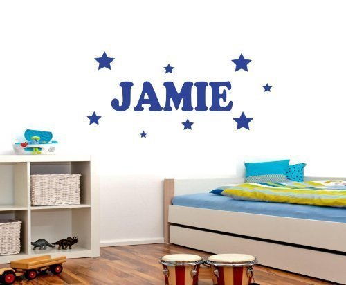 kids-personalised-name-stars-bedroom-wall-art-vinyl-decal-sticker-17-colours-available-please-messag