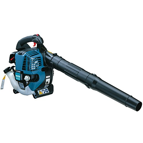 If you want quality, reliability and high performance, then this Makita petrol leaf blower has it all.  Powered by a 25.5cc petrol engine, there's no oil to mix, its surprisingly quiet and very powerful, with a air outtake of 145 mph, enough for the most stubborn tasks.  Its one of the lightest models available, well balanced, which means it very comfortable and easy to use.  A near  faultless leaf blower with impressive preformance