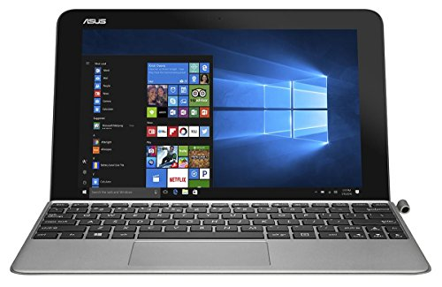 ASUS Transformer Mini T103 90NB0FT2-M00830 (10,1 Zoll Touch) Convertible Tablet-PC (Intel Atom x5-Z8350, 4GB RAM, 128GB eMMC, Intel HD Graphics, Windows 10) grau (Asus Transformer Tablet Windows)