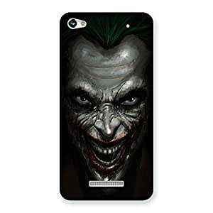 Enticing Mad face Multicolor Back Case Cover for Micromax Hue 2