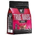 BSN True Mass 1200 Weight Gainer Eiweißmischung Pulver (enthält Whey, Casein, Glutamin und Kohlenhydrate (Hafermehl), Protein Shake von BSN) chocolate milkshake, 15 Portionen, 4,80kg