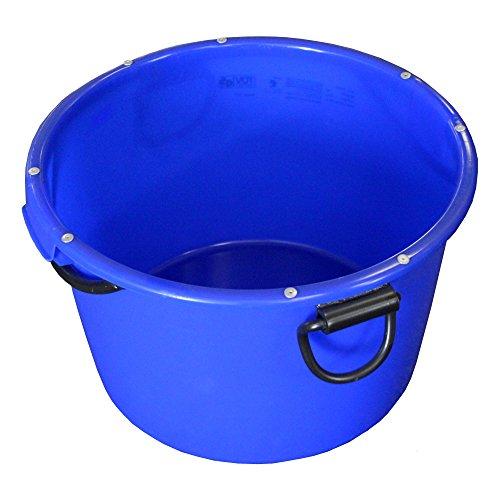 BAU-EIMER 'Jopa' 90,0 l, Blau, Skalierung, robust, frostbest., kranbar, GS