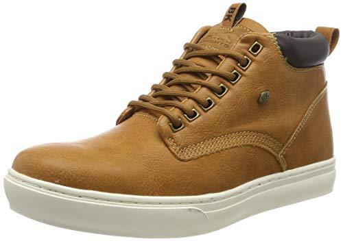 British Knights Herren Wood Hohe Sneaker, Braun (Cognac/Dk. Brown 05), 44 EU