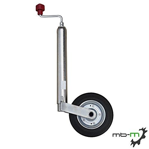 mb-m AL-KO Anhänger Stützrad mit Stahlfelge Compact 150kg ALKO Stützrad Trailer