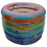 LIVY Baby Swimmingpool Kinder aufblasbare Baby Badewanne Ringe runden die marine Ball Pool Rainbow Kleinkinderbecken