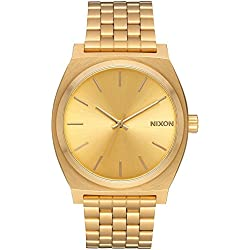 Nixon Unisex The Time Teller All Gold/Gold