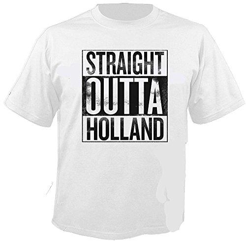 257ers - Straight Outta Holland - T-Shirt Größe L