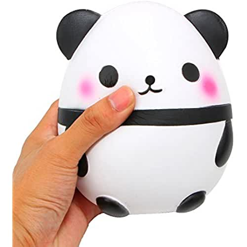 juguetes kawaii 5.2 Jumbo Squishy Kiibru Scented Slow Rising Toys for Kids (Panda)