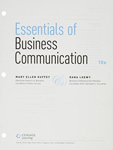 PDF][Download] Essentials of Business Communication + Premium