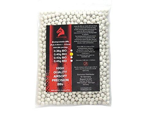 Lonex 1.000 High Precision Heavy Softair/Airsoft Bio BBS 6mm 0,40g -hell-