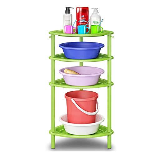 GYY Badezimmer badezimmerboden Regal bodenstehend waschbecken Stand wc badezimmergestell awash die Bank (Color : Blue, Size : 48 * 85CM) (Wc-bank)
