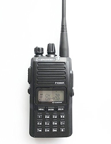 PUXING PX 888 K Dual Band VHF 136 – 174 & UHF 400 – 480 MHz Amateur – Walkie Talkies Radio dispositivos