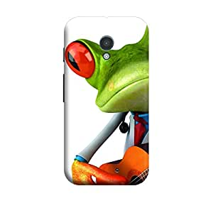 CaseLite Premium Printed Mobile Back Case Cover With Full protection For Moto X (Designer Case)