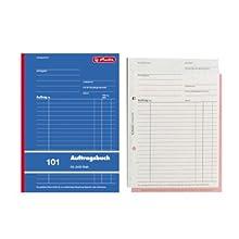 Herlitz 880518 Order Book A5 101 3x50 Blatt