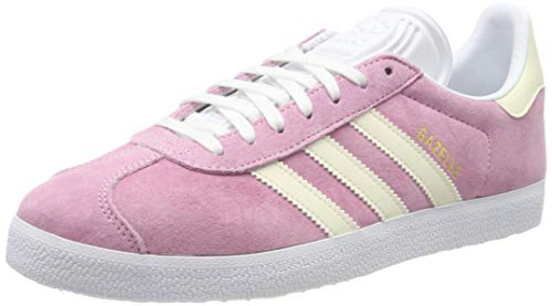 adidas Gazelle W Scarpe da Ginnastica Donna, Rosa (True Pink/Ecru Tint S18/Ftwr White) 37 1/3 EU