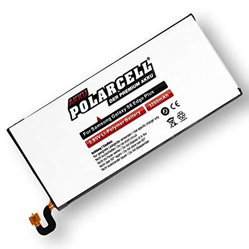 PolarCell Akku für Samsung Galaxy S6 Edge Plus SM-G928F / EB-BG928ABE (3200mAh/12,32Wh)