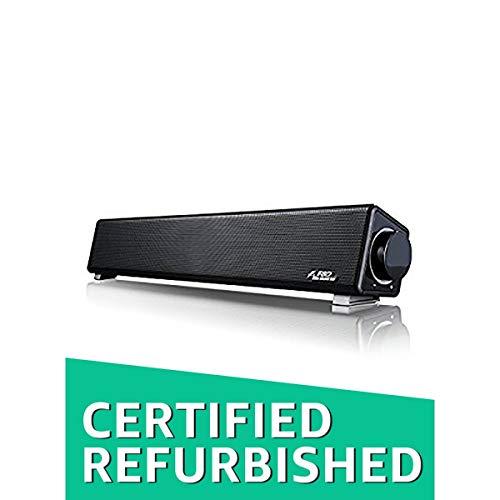 (Certified REFURBISHED) F&D E200 Soundbar Speaker System (Black)