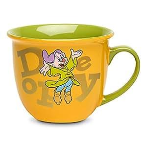 Disney Store Simplet Tasse à café Doré 2014 nain Vert