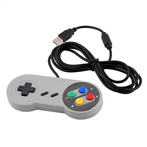 Mengonee Gaming USB Controller Gamepad cable Joystick