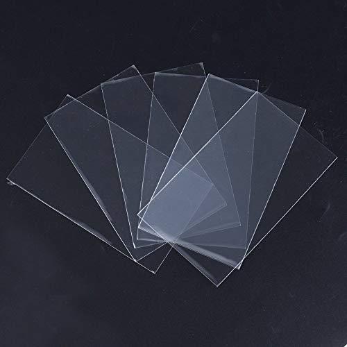 AONER 200 STK OPP Tütchen (ca. 9 x 15 cm) Plastiktüten klein Flachbeutel transparent Beutel Plätzchen Gebäck Tüten Süßigkeiten Geschenk Verpackung für Schoolade Lutscher (Transparent, ca. 9 x 15 cm)