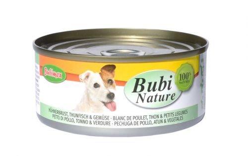 Bubi Nature Hund Hühnerbrust & Thunfisch Größe 12 x 150g