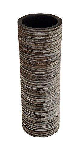 ROMBOL Vase, Holzvase, Höhe 38,5 cm, Designvase, Deko, Dekoration, Dekovase, Mangoholz