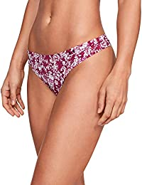 Under Armour Women's Plain/Solid Thong (Pack of 3)