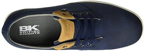 Copal Cavalieri Cognac Homme Derby navy Britannici Blau wggq5Cf