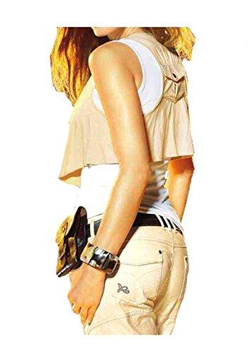 APART Fashion - Débardeur - Asymétrique - Opaque - Femme Beige weiß-beige Multicolore - weiß-beige
