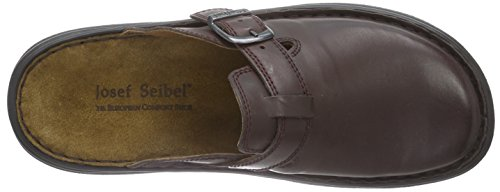 Josef Seibel Madrid 10122 37 600, Mules homme Rouge (647 Wine)